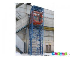 Грузовой подъемник ТИТАН шахтный для производства